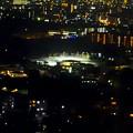 写真: 東山スカイタワーから見た夜景 No - 24:テニス場?
