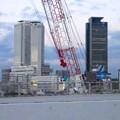写真: 名古屋高速から見た名駅ビル群 No - 14