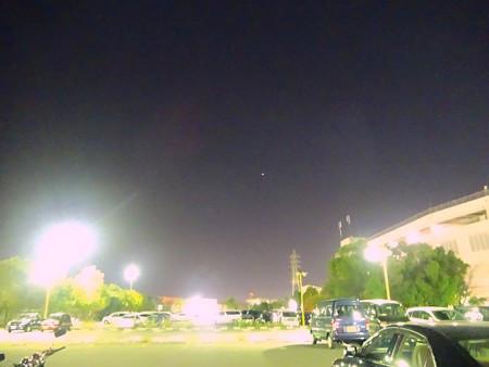 たぶん国際宇宙ステーション(2013/12/8 17時40分頃)No - 1