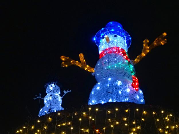 ノリタケの森のクリスマスイルミネーション 2013 No - 44:スノーマン