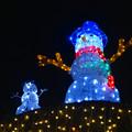 写真: ノリタケの森のクリスマスイルミネーション 2013 No - 44:スノーマン