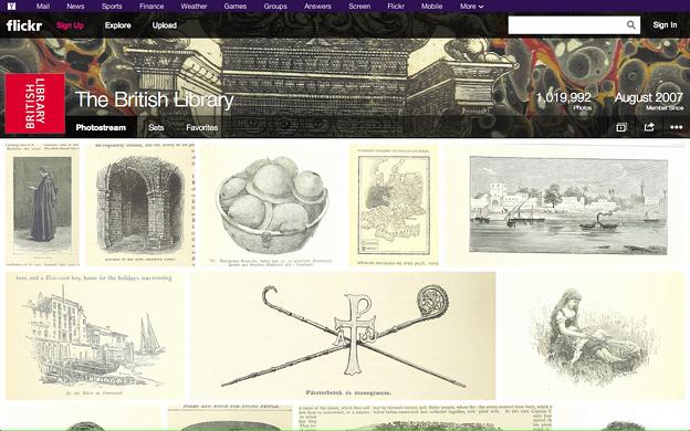 Flickr:大英図書館 公式アカウント