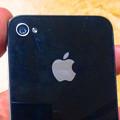 写真: iPhone 4S No - 8:背面(カメラとアップルマーク拡大)