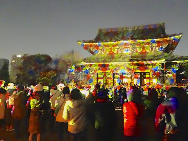 東別院の大晦日 2013 No - 40:D-K Live デジタル掛け軸