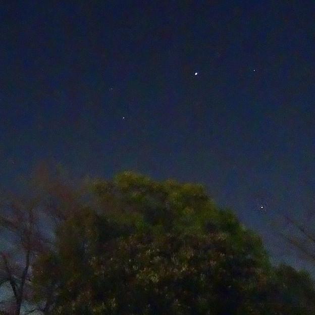 双子座と木星(2014/1/23)