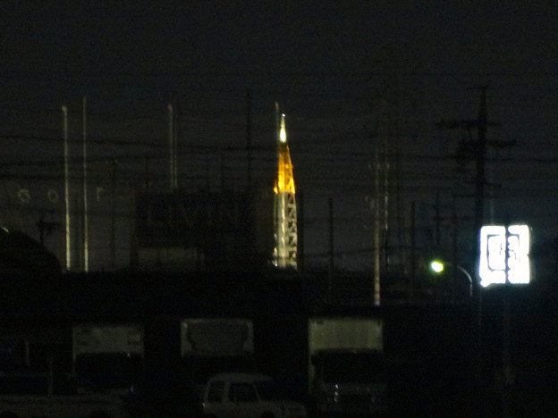 春日井市内からも見えた、瀬戸デジタルタワーのイルミネーション - 8