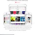 写真: Safari:iTunes Radioのページを表示