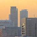 写真: スカイボートから見た景色 No - 090:ミッドランドスクエアとセントラルタワーズ