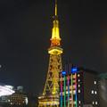 写真: オアシス21から見た、夜の名古屋テレビ塔 - 06
