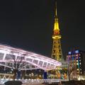 写真: オアシス21から見た、夜の名古屋テレビ塔 - 10