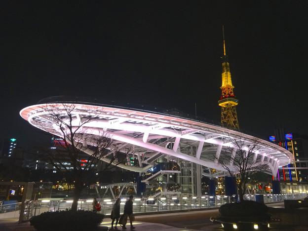 オアシス21から見た、夜の名古屋テレビ塔 - 11