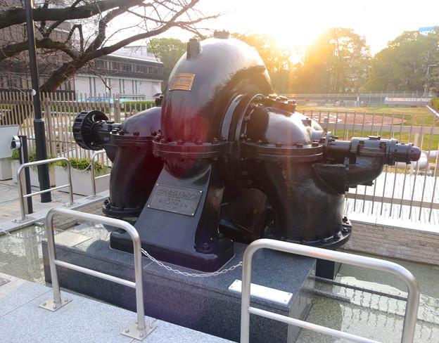 堀留水処理センター No - 08:みちのく式渦巻ポンプ