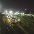写真: 夜の向野橋から見た景色 No - 34:名古屋車両区