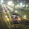 写真: 夜の向野橋から見た景色 No - 35:名古屋車両区