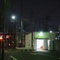 夜の近鉄 米野駅 - 2