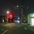 夜の近鉄 米野駅 - 4
