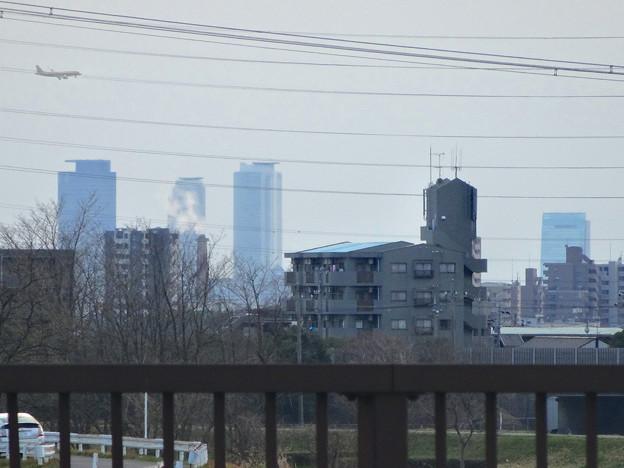 写真: 春日井東部から見えた名駅ビル群 - 4