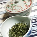 写真: 煎茶かりがね飲んで一息つこう(´-ω-`)