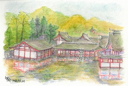 20130522厳島神社東回廊