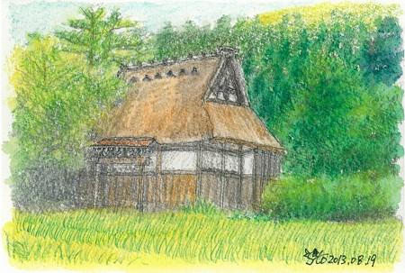 20130819白川郷の寺