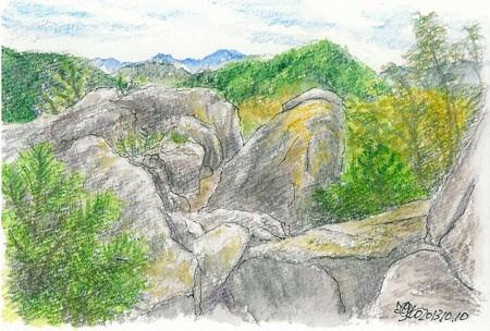 20131010丸山の岩場