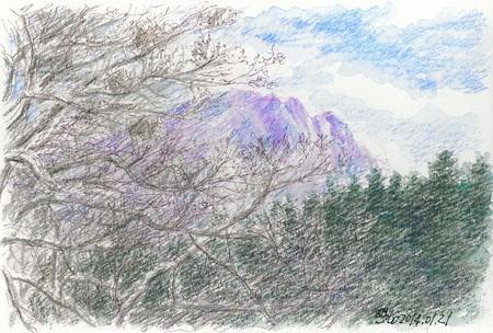 20140121甲ケ山