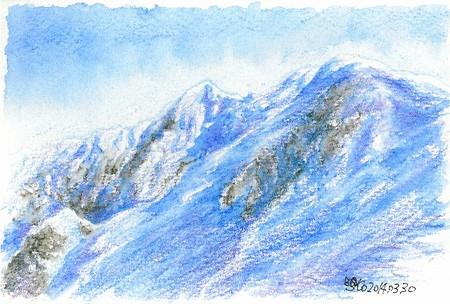 20140330剣ケ峰と弥山