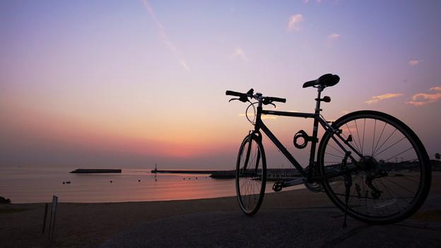 夕景 at 江井ヶ島