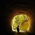 Photos: 房総の素掘りトンネル