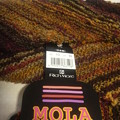 Photos: ◆MOLA ななめ編み1玉ストール◆
