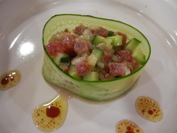 まぐろの前菜風サラダ