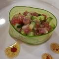 Photos: まぐろの前菜風サラダ