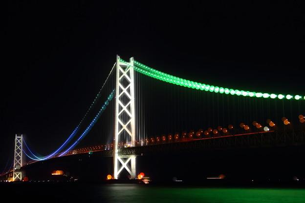 明石海峡大橋の玉暈けI