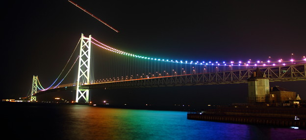 明石海峡大橋パノラマ