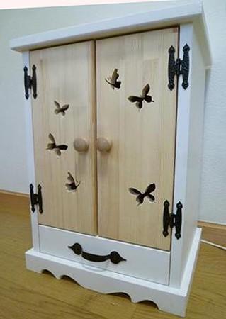 ミニ仏壇 蝶