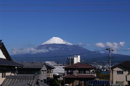 10月29日の富士山@α7D