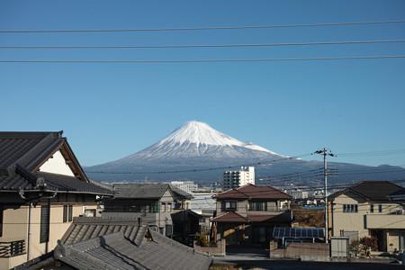 12月21日の富士山