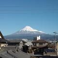 写真: 12月21日の富士山
