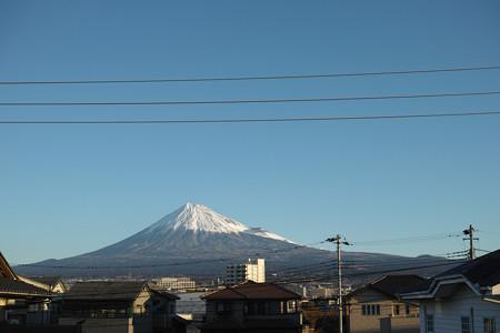 12月29日の富士山