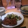 Photos: 夕食は牛タンー!!ひぁーー...