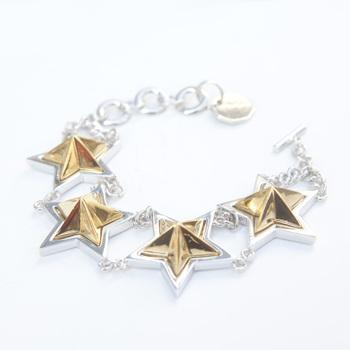 Big Star Studs Bracelet(SILVER/GOLD)