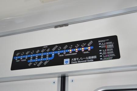 表示器(2000系)@千里中央駅-少路駅 [8/23]