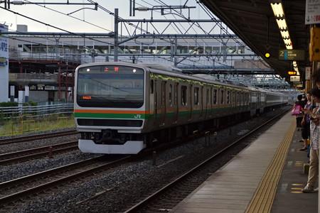 E231系1000番台@蕨駅 [9/3]