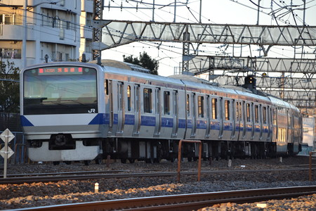 E531系@馬橋-北松戸 [1/27]