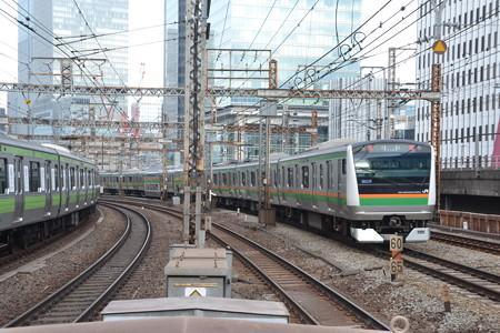 E233系3000番台(×E231系500番台)@有楽町 [2/14]