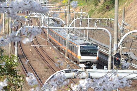 E233系0番台@飯田橋-市ヶ谷 [3/28]