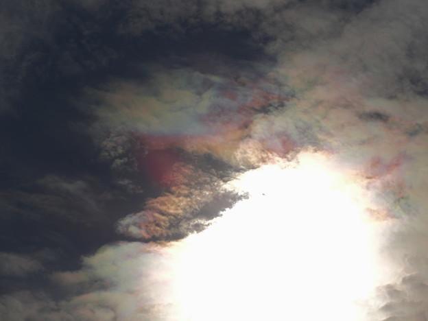 彩雲?光環?