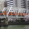 写真: 春の大阪環状線