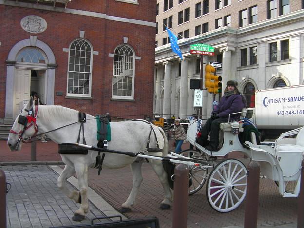 フィラデルフィアの街