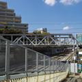 東横線のトラス橋。